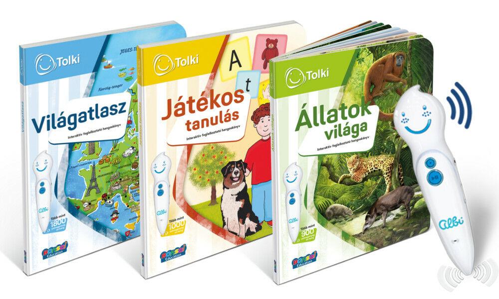 Tolki interaktív könyvek